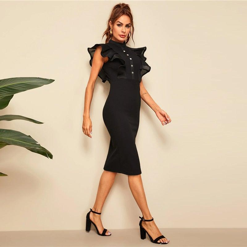 High Class Ruffle Dress