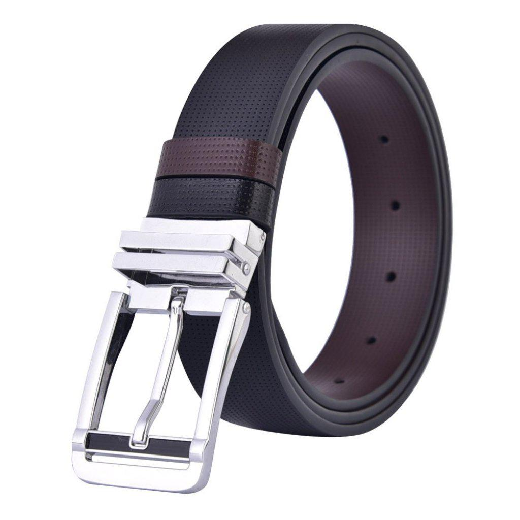 #twoway Reversible Belt-Men's Belts-📸 #CrayeLabel-Black-32-CrayeLabel.com