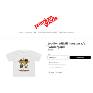 "The ""Kids"" Toddler T-shirt Available @ Premium Kids"
