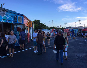 Photos from July ArtWalk, with Painting Challenge and the Hive Pop-Up Gallery!
