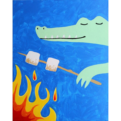 Gator with Marshmallows