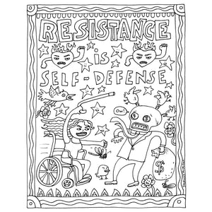 Resistance is Self-Defense (print it yourself)