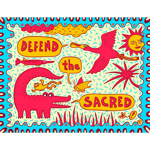 Defend the Sacred (print it yourself)