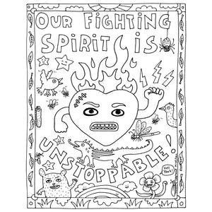 Fighting Spirit (print it yourself)