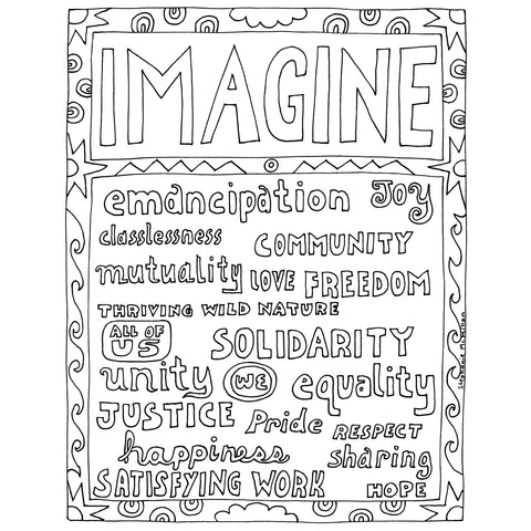 Imagine (print it yourself)