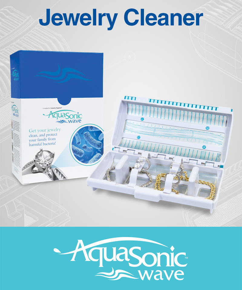 AquaSonic Wave Jewelry Cleaner