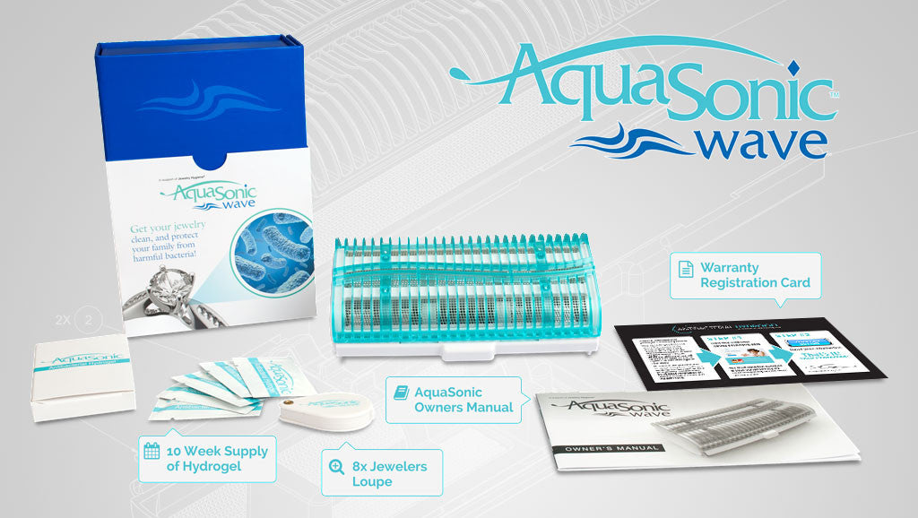 What's Inside the AquaSonic Wave Box
