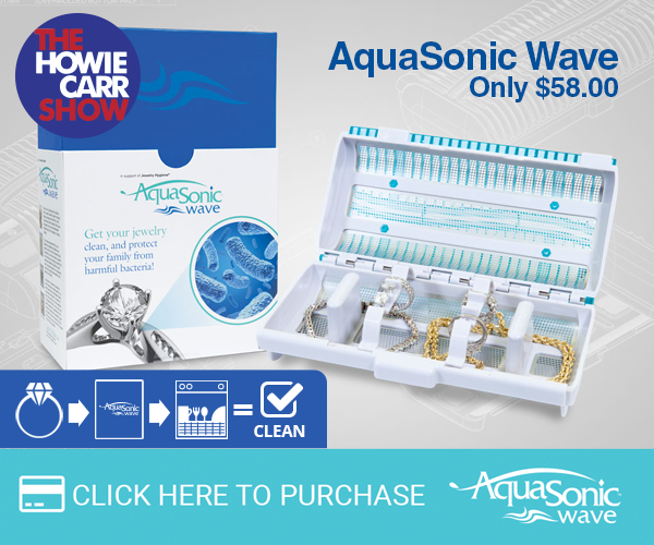 Howie Carr AquaSonic Wave with 3 months' supply of Anti-Bacterial Gel and FREE shipping an $80.00 value for $58.00