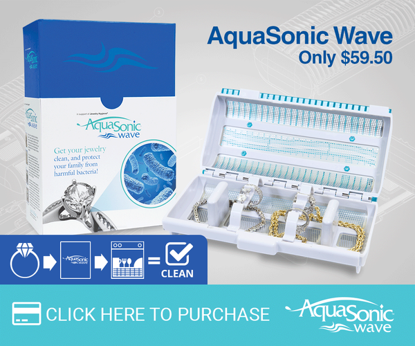 The AquaSonic Wave Jewelry Cleaner