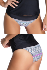 SOLO BOTTOM a la cadera estampado - Talla XL