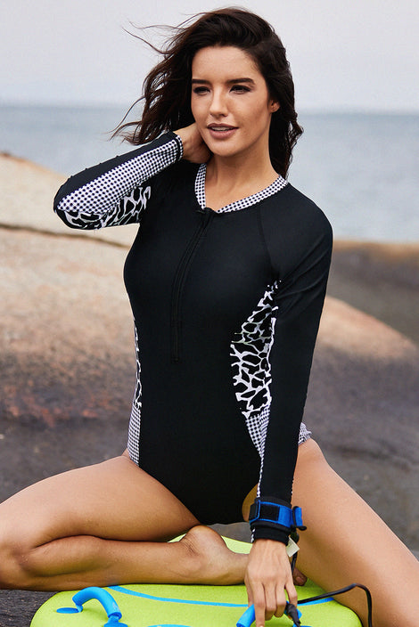 RashGuard Animal Print - Talla XL