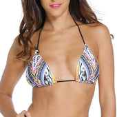 TOP triangular multicolor - Talla S