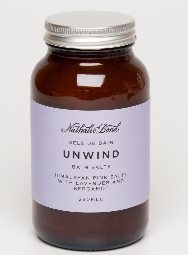Unwind Bath Salts by Nathalie Bond The Voewood - The Voewood