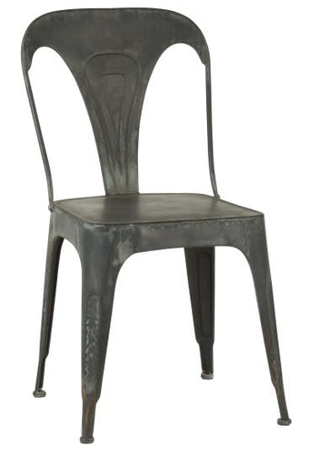 Danish-Design Metal Chair