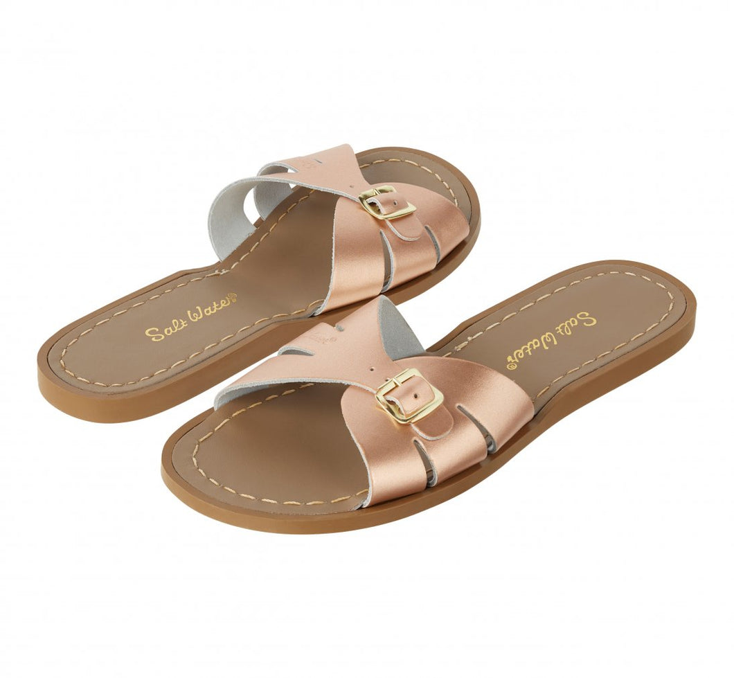 Saltwater Slides Rose Gold