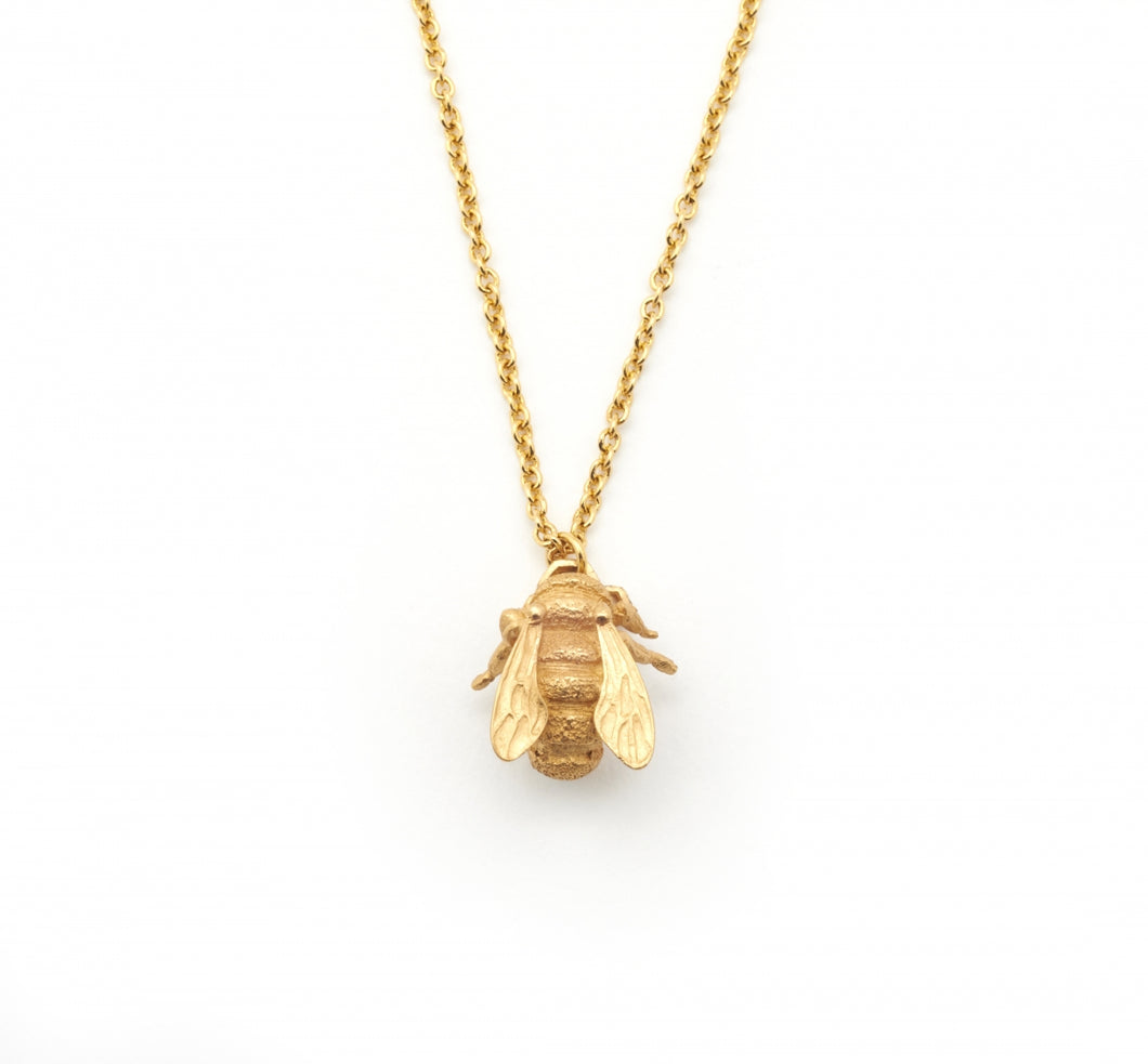 Bill Skinner Bee Pendant Necklace