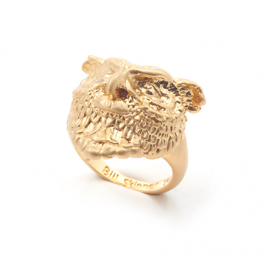 Bill Skinner Owl Statement Ring