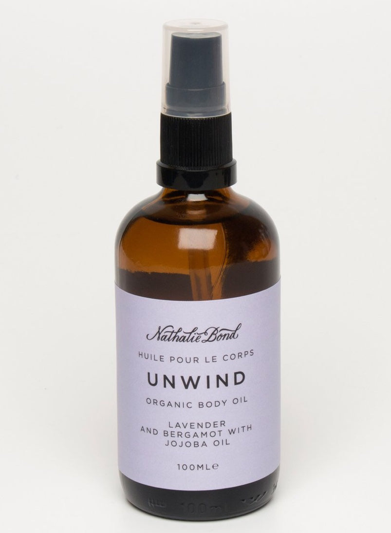 Unwind Organic Body Oil The Voewood - The Voewood