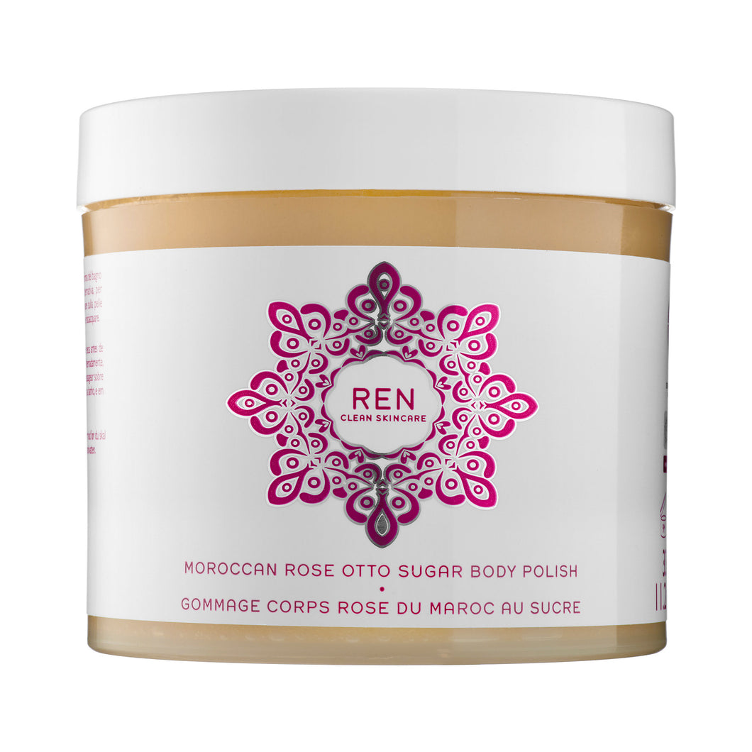 REN Moroccan Rose Otto Sugar Body Polish 330ml The Voewood - The Voewood
