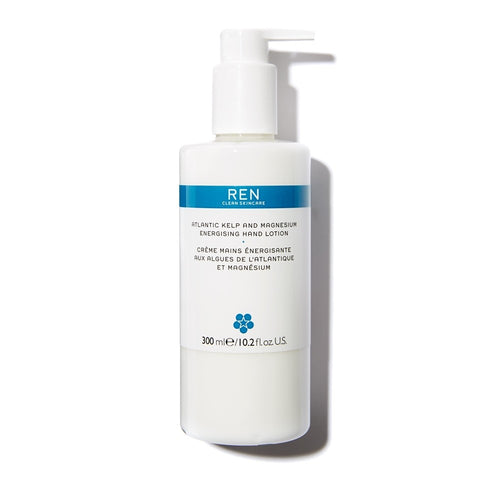 REN Atlantic Kelp and Magnesium Energising Hand Lotion 300ml The Voewood - The Voewood