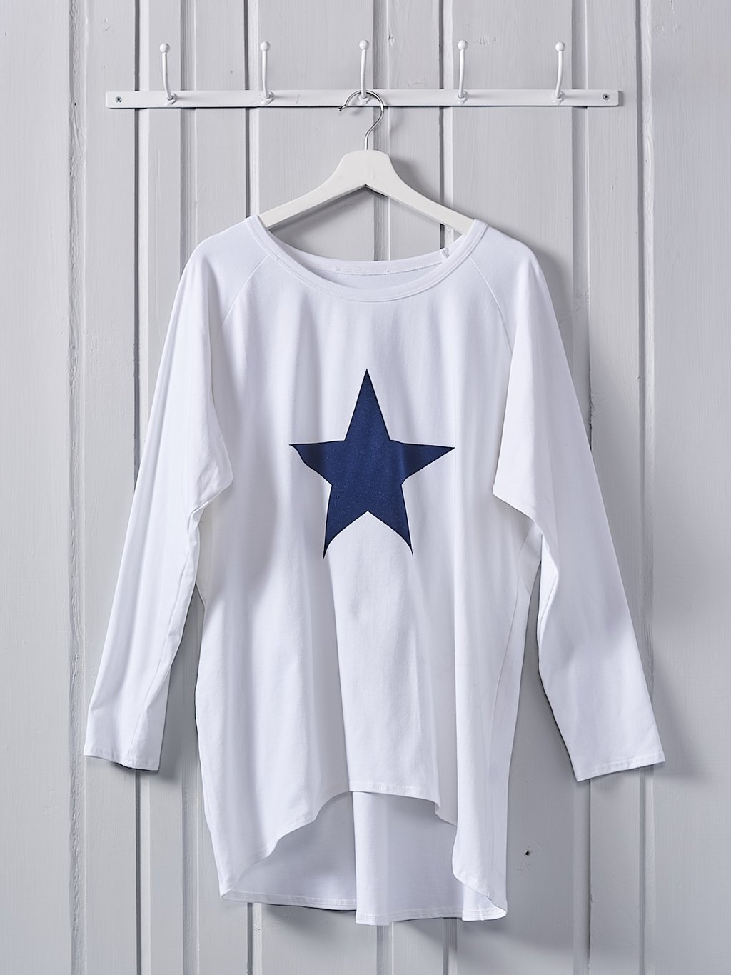 Cotton Jersey Star Top