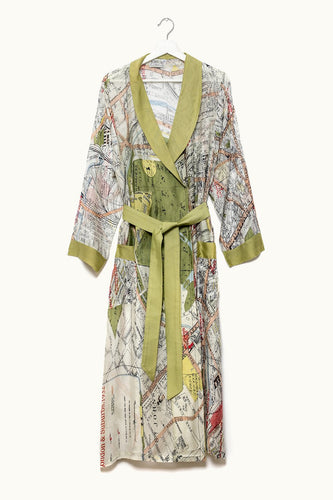 One Hundred Stars London Map Gown