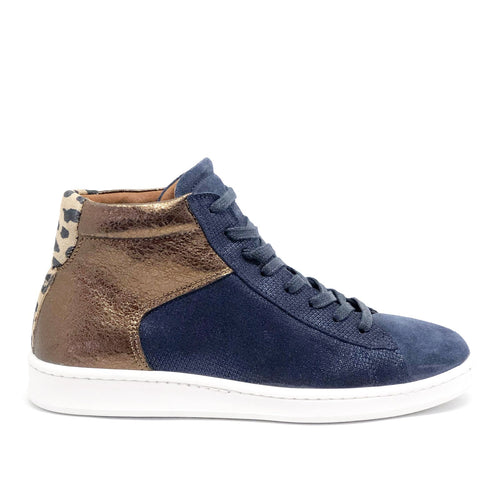 Osea Blue High Top Trainer