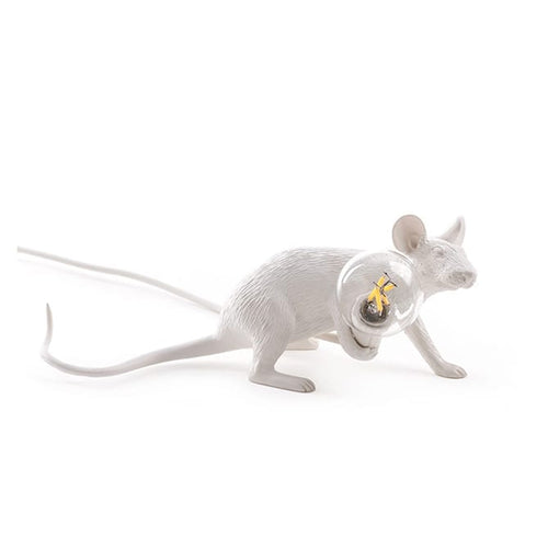 Mouse Lamp - 'Lop' White
