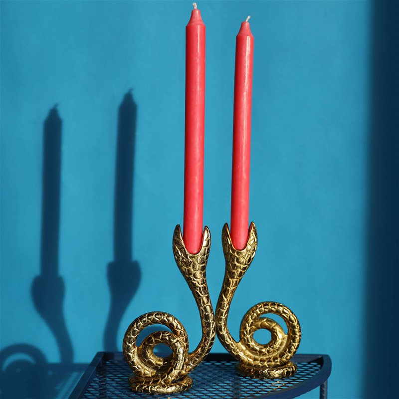 Serpent Candle Holder