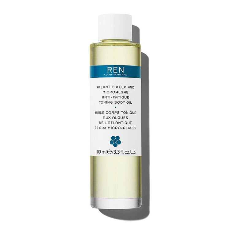REN Atlantic Kelp and Magnesium Anti-Fatigue Toning Body Oil 100ml