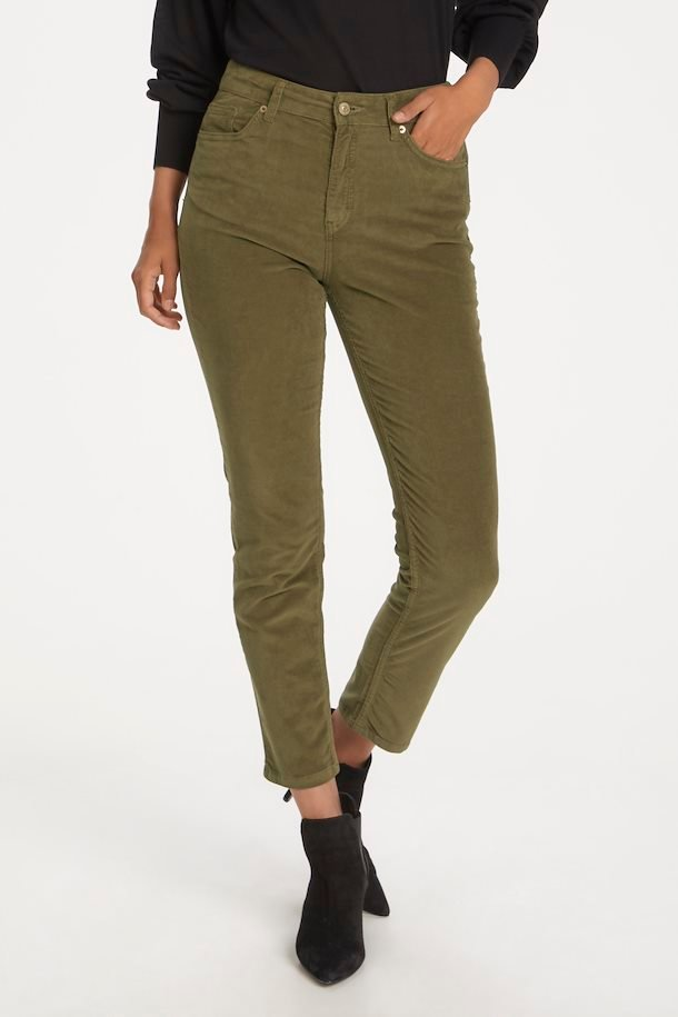 Silvia Cord Trousers