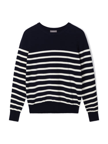 Jane Jumper | Navy/Ecru
