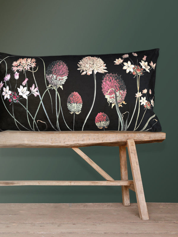 Allium Velvet Cushion