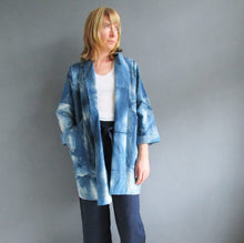 Long Indigo Studio Jacket