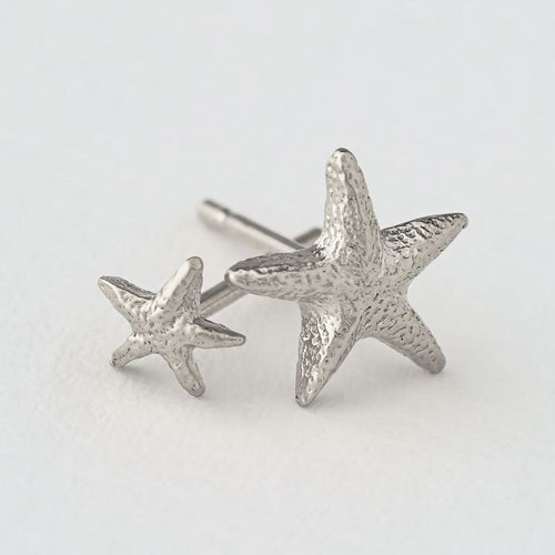 Alex Monroe Star Fish Earrings