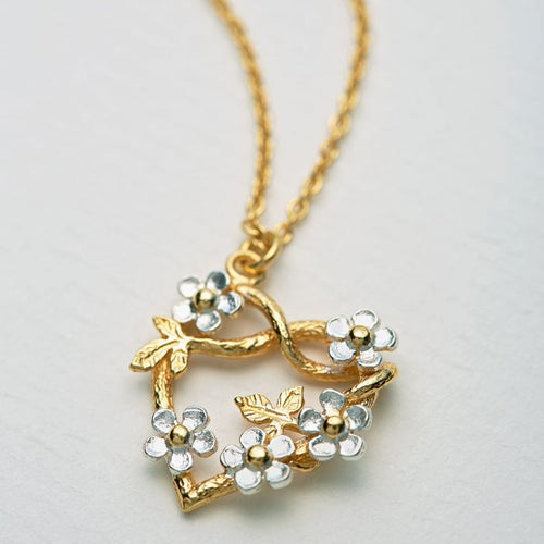 Posy Heart Necklace