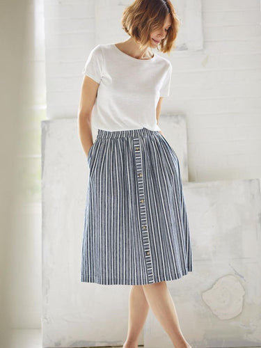 Catterina Striped Skirt