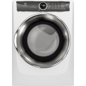Electrolux EFMG627UIW FL Dryer, Gas, Steam