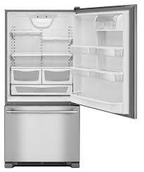 Maytag MBF2258FEZ 33-Inch Wide Bottom Mount Refrigerator - 22 Cu. Ft.