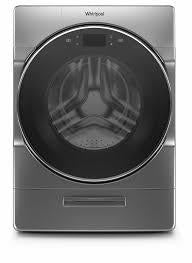 Whirlpool WFW9620HC 5.8 CU FT. IEC, WTW/HTW CYCLES, 1200 RPM, STAINLESS STEEL DRUM, STEAM , LOAD & GOå¨ XL PLUS , WASH & DRY OPTION, CONNECTIVITY, LCD TOUCH PAD SCREEN (5.0 CU FT. DOE)