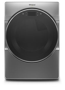Whirlpool WGD9620HC 7.4 CU FT.,WTD/HTD CYCLES, ADVANCED MOISTURE SENSING,  5 TEMPERATURES,  STAINLESS  STEEL DRUM, STEAM, INTERIOR LIGHT, CONNECTIVITY, LCD TOUCH PAD SCREEN,   GAS