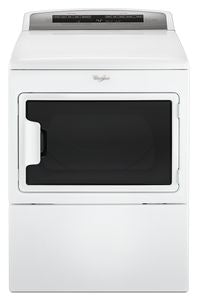 Whirlpool YWED7500GW ELECTRIC , SIDE SWING DOOR,  7.4 CU FT., 26 CYCLES, SENSOR DRY, 5 TEMPERATURES, POWDER COATED DRUM, INTERIOR LIGHT