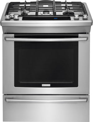 Electrolux EW30DS8CRS SI Dual Fuel - 30'', SC, 5 Burner, True