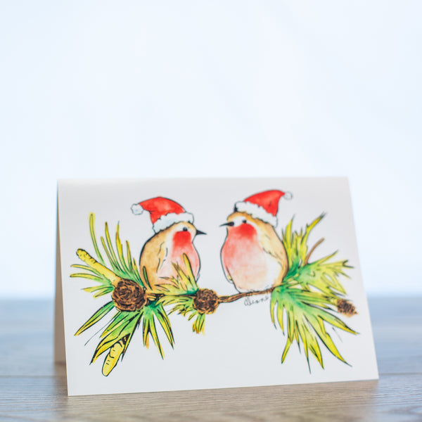 Holly Jolly - Pack of 10 Cards