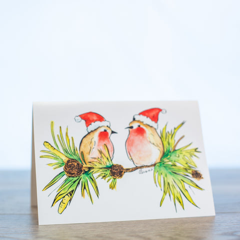 Holly Jolly Christmas Card PK of 10
