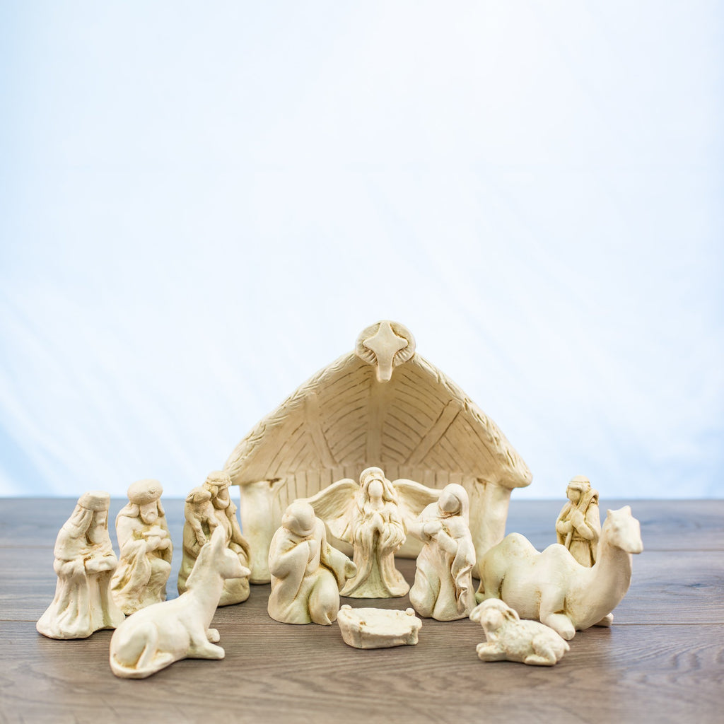 Nativity Set White