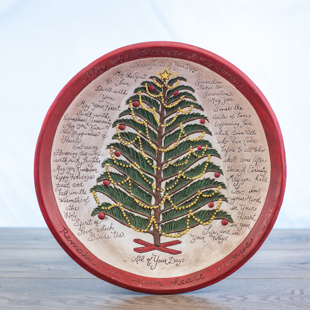 Comfort Bowl with Christmas Tree Red