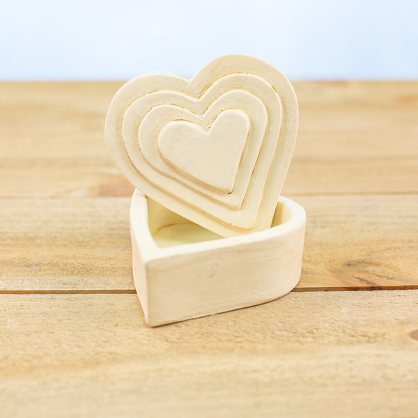 Heart Container in White