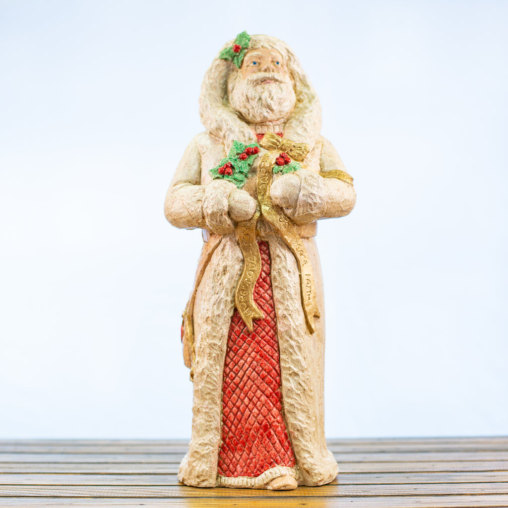Father Christmas Joyful Statue