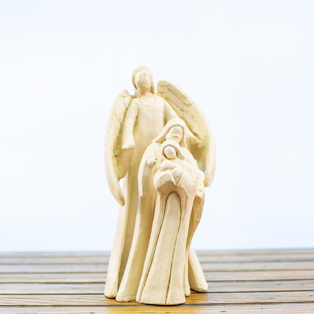 Holy Family Nativity 3 Piece Large White
